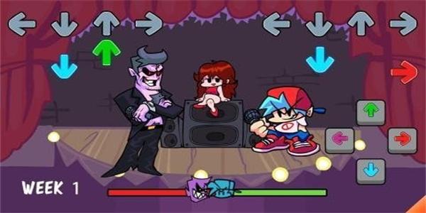 卡通风格的音乐节奏游戏合集